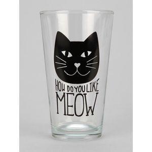 Meow Cat Pint Glass